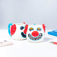 Scary Clown Heat Change Mug