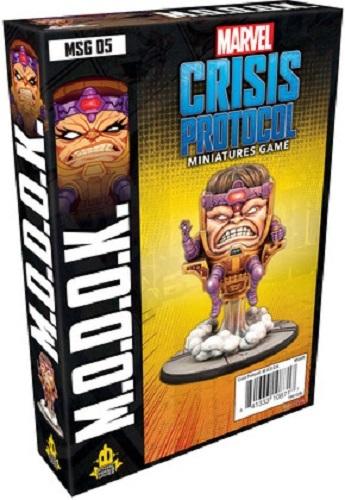 Marvel Crisis Protocol Miniatures Game Modok Expansion image