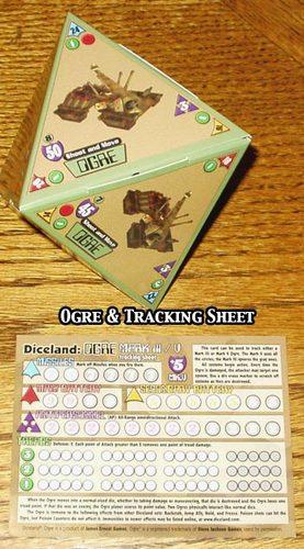 Diceland : Ogre - dice game image