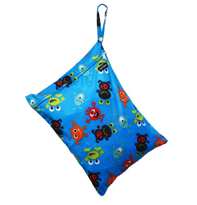 Snazzipants: Wet Bag Medium - Monsters