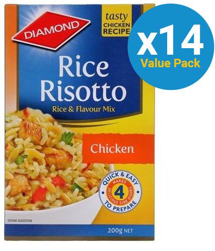 Diamond: Rice Risotto Chicken (200g x 14)