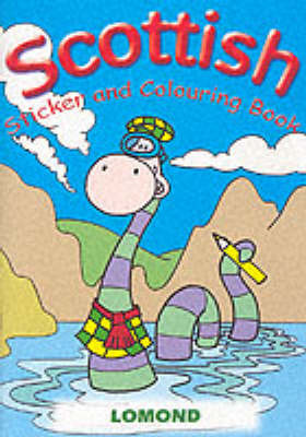 Scottish Sticker and Colouring Book image