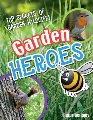 Garden Heroes: Age 7-8, Above Average Readers by Rufus Bellamy image