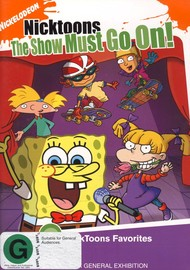 Nicktoons: The Show Must Go On on DVD image