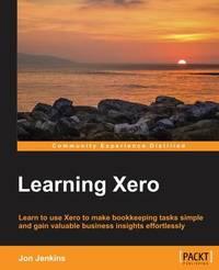 Learning Xero by Jon Jenkins image