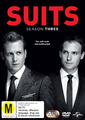 Suits - Season Three on DVD