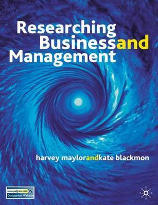 Researching Business and Management by Kate Blackmon image