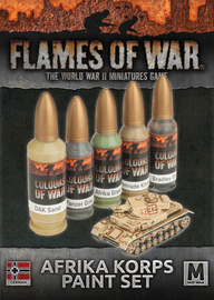 Flames of War: Afrika Korps - Paint Set