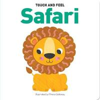 Touch & Feel Board Book Safari image