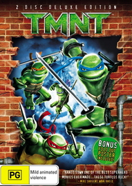 Teenage Mutant Ninja Turtles (2 Discs)  on DVD image