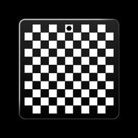 Acrylic Base (Checkered Pattern)
