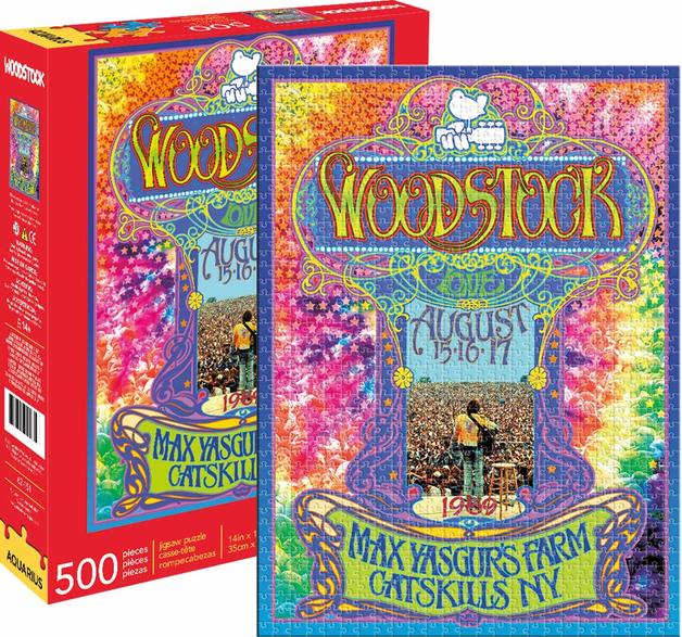 Woodstock – Collage 500pc Puzzle