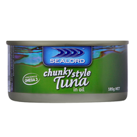 Sealord: Tuna in Oil 185g (24 Pack)