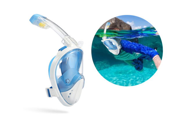 Komodo: Breathe Easy TruVision Snorkel (L / XL)