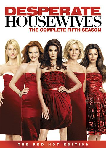Desperate Housewives - The Complete 5th Season (7 Disc Set) on DVD image