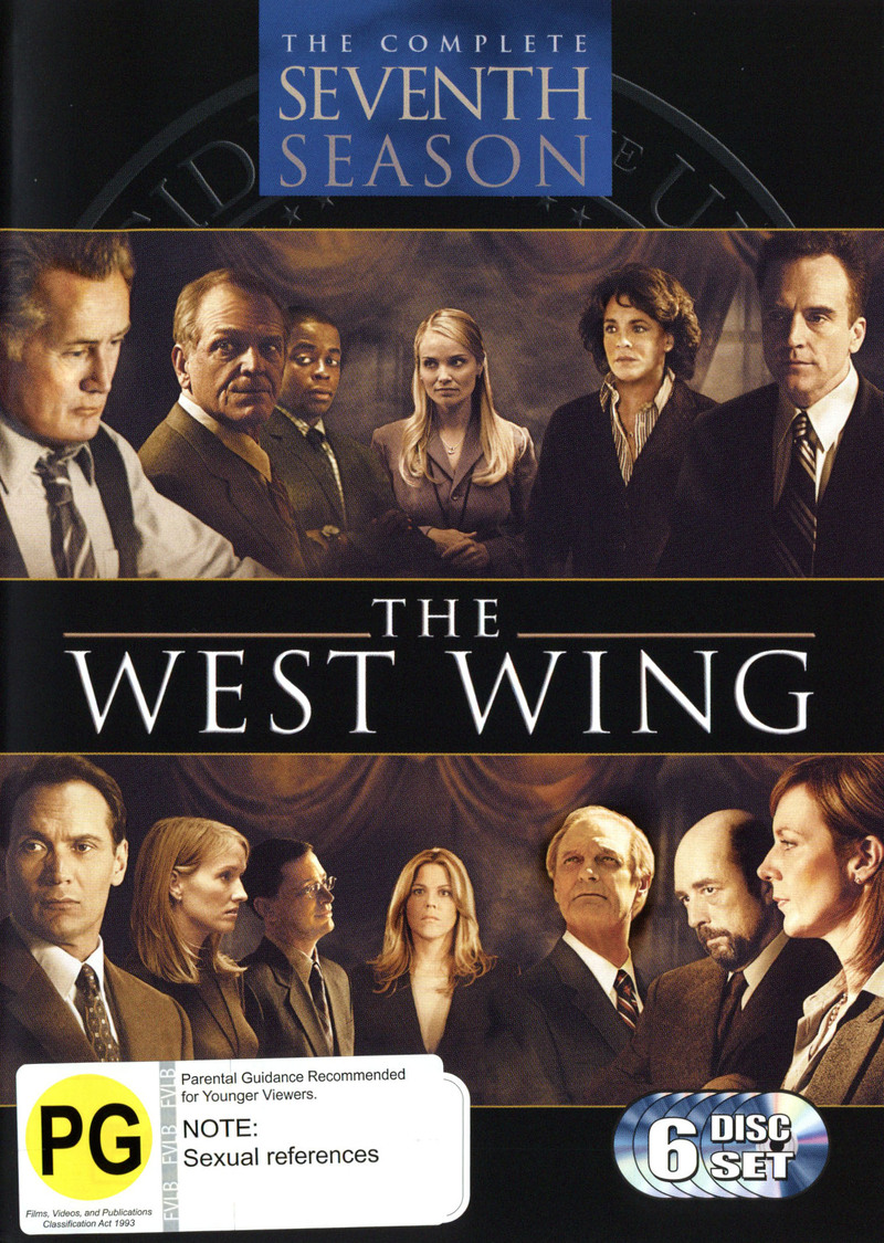 The West Wing - Complete Season Seven (6 Disc Set) on DVD image