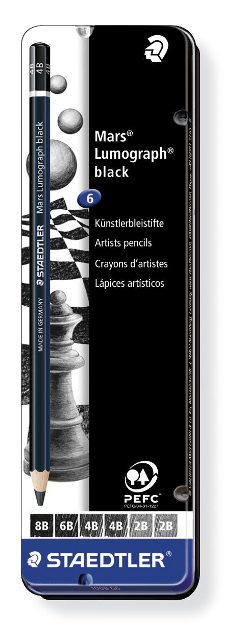 Staedtler - Mars Lumograph Sketch Pencils image