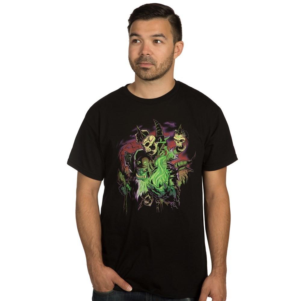 World of Warcraft: Legion - Destroyer of Dreams Guldan T-Shirt (XXL) image