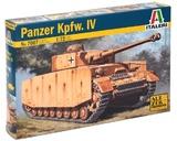Italeri: 1/72 Panzer Kpfw.IV Tank - Model Kit
