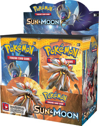 Pokemon TCG Sun & Moon Booster Box