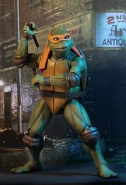 Teenage Mutant Ninja Turtles: Michelangelo (1990 Movie) - 1:4 Scale Action Figure image