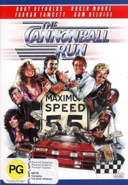 The Cannonball Run on DVD image