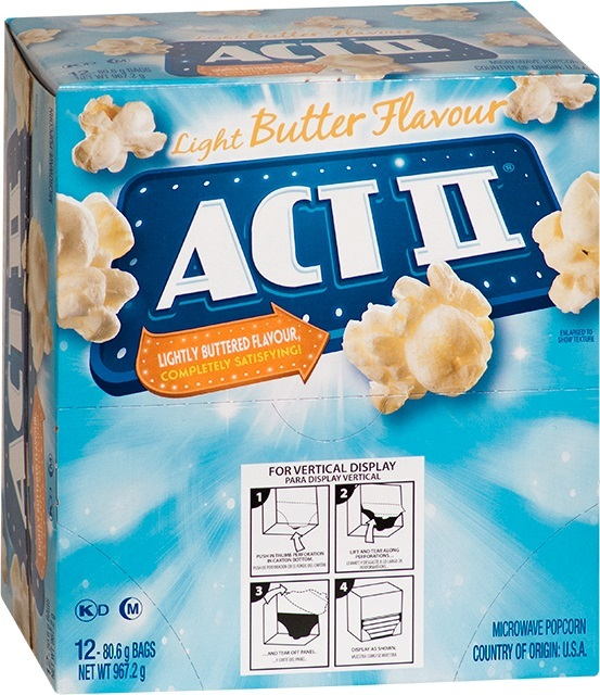 ACT II: Light Butter 80.6g (12 Pack)