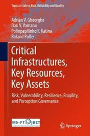 Critical Infrastructures, Key Resources, Key Assets by Adrian V. Gheorghe