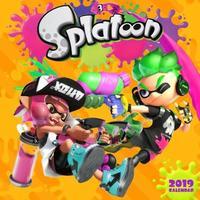 Splatoon 2019 Wall Calendar by Nintendo
