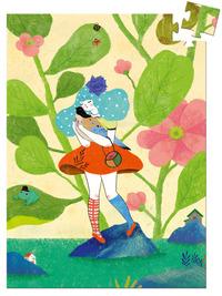 Djeco: 60pc Mini Puzzle - Miss Chichi