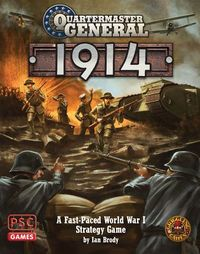 Quartermaster General: 1914 - Board Game