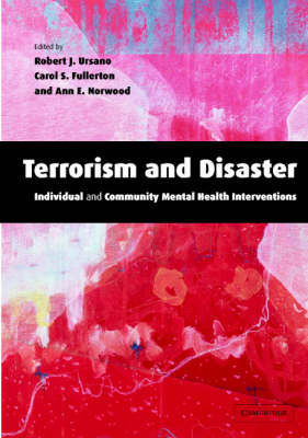 Terrorism and Disaster: Individual and Community Mental Health Interventions image
