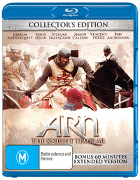 Arn: The Knight Templar - Collector's Edition on Blu-ray