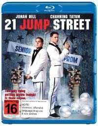 21 Jump Street on Blu-ray