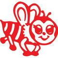 X-Stamper Stamp Bee Red