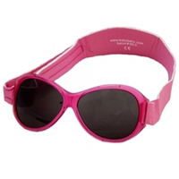 Retro Kidz Banz Sunglasses (Berry Pink)