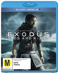 Exodus: Gods & Kings on Blu-ray