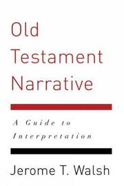Old Testament Narrative by Jerome T. Walsh image