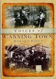 Canning Town Voices by Howard Bloch image