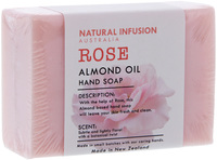 Natural Infusion Soap - Rose & Almond Oil (125g)
