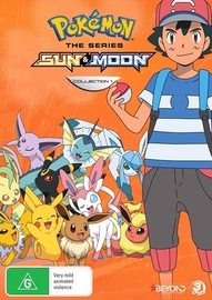 Pokemon The Series: Sun & Moon - Collection 1 on DVD