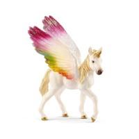 Schleich : Winged Rainbow Unicorn Foal