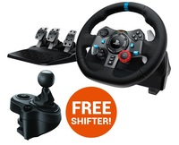 Logitech G29 Feedback Racing Wheel (PS4) for PS4 image