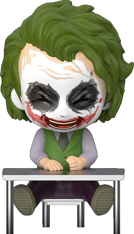 Batman: Dark Knight - Joker Laughing Cosbaby Figure