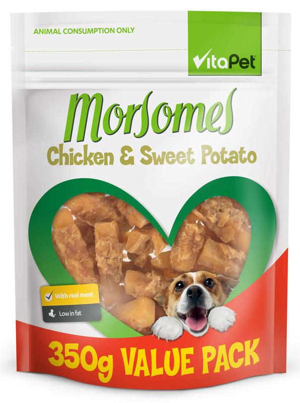 Vitapet: Morsomes Chicken & Sweet Potato (350g)