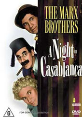 A Night In Casablanca on DVD