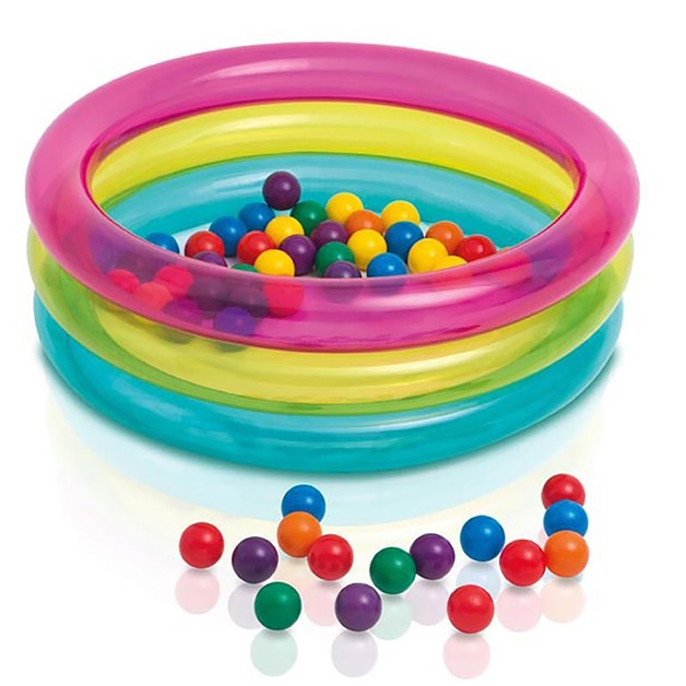 Intex: Classic 3-ring Baby Ball Pit