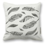 The Rise and Fall: Feathers Pillow