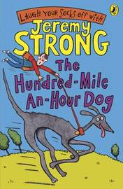 The Hundred-Mile-An-Hour Dog (Book & CD) by Jeremy Strong image