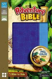 NIV, Adventure Bible, Leathersoft, Blue, Full Color by Zonderkidz
